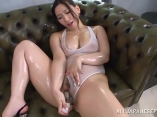 Steamy Sayuki Kanno Masturbates In A Solo Model Video