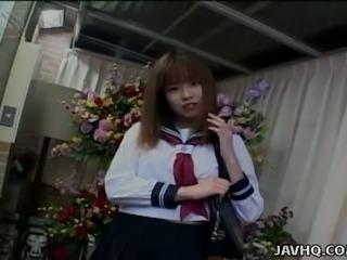 Minami Hayakawa is a wanton Japanese coed who loves being half naked