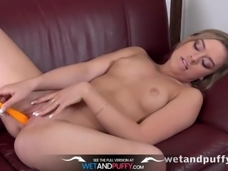 Sex Toys - Daniella Margot toys her pussy with a vibrator