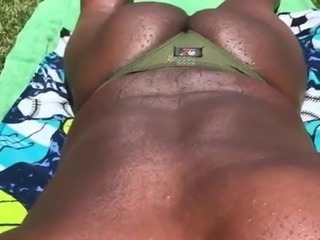 Black Male Thong