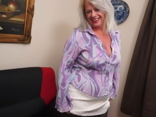 Mature mom with big ass and hungry old cunt