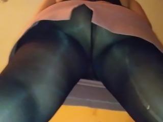 bbw upskirt pantyhose