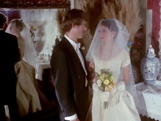 gloved handjob vintage wedding scene