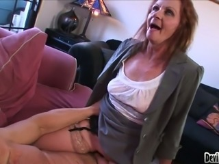 Mature harlot Misty White gets nailed well by Chance Caldwell