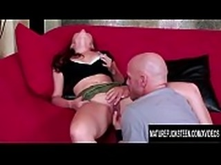 Lustful Asian Teen Kita Zen Gets Plowed by an Older White Cock