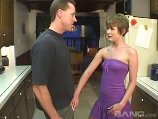 Teen likes it when older guys fuck her in the butt