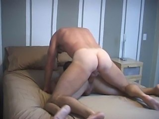 Bareback gay sex.