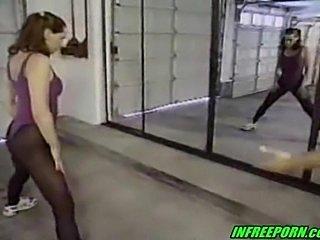Redhead russian teen gymnast fuck coach hardcore