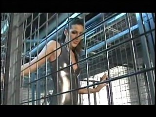 Kinky babes in the cages