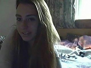 Dutch webcam girl teasing