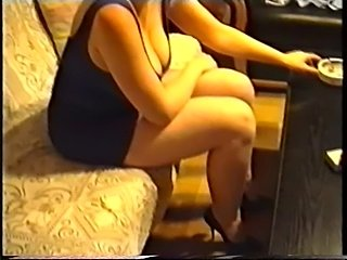 Sag - my wife blue and purple stretchdress filled with big j free