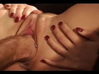 Kinky blonde MILF got fist fucked by her slave, while other guy dressed in...