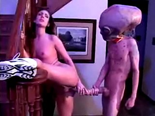 Martian forces young girl to sex