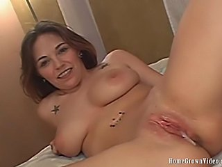 Adara at 19 years old sucks her boyfriend into getting frisky on camera. This...