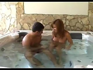 Erotic action in the whirlpool